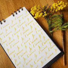 Noëlie   Calligraphique (@calligraphique) • Photos et vidéos Instagram Tableware, Photos, Instagram, Calligraphy, Dinnerware, Pictures, Tablewares, Dishes, Place Settings