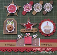 Sara Stamper - Main Page: Card candy