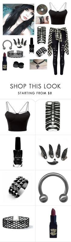"""""""Untitled #41"""" by baileyistrash ❤ liked on Polyvore featuring WithChic, Mandi, Marcelo Burlon, Azature, Waterford and Miss Selfridge"""