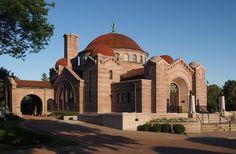 Lakewood Cemetery Memorial Chapel in Hennepin County, Minnesota.