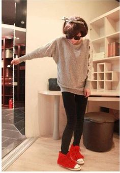 Exquisite Solid Color Scoop Neck Lace Embellished Dolman Long Sleeves Knitted Sweater For Women Sweaters For Women, T Shirts For Women, Sammy Dress, Shirt Shop, Shirt Outfit, Fashion Dresses, Lace, Stuff To Buy, Color