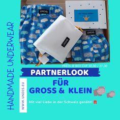 UNDIS   www.undis.eu  Die handgemachte Unterwäsche im Partnerlook für die ganze Familie. Lustige Motive und flippige Farben für Groß und Klein! #Underwearformen #Kinderboxershorts #Lustigeboxershorts #Lustigeunterwäsche #Frauenunterwäsche #Männerboxershorts #Männerunterwäsche #Herrenboxershorts #Herrenunterwäsche #Swissmade #Unterwäsche #boxershorts #undis #kinderboxershorts #Partnerlook #mensfashion #lustige #geschenktipps #geschenksidee #geschenkideen How To Make, Self, Funny Underwear, Men's Boxers, Men's Boxer Briefs, Father's Day, Packaging, Guys, Colors