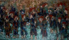 Trong Luu Dao, 'Red Dao People Dance,' 2014, International Modern Art Gallery