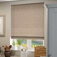 Opus Bisque Roman Blind from Blinds 2go