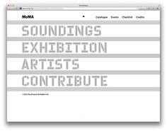 Soundings: A Contemporary Score on Behance