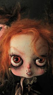 """PINK RABBIT"" doll custom OOAK by Julien Martinez Haunted Dolls, Scary Art, Monster Dolls, Halloween Doll, Realistic Dolls, Creepy Dolls, Doll Parts, Doll Head, Horror Art"
