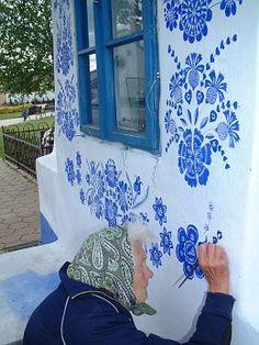 Home art in Moldavia. FolklorWeb.cz