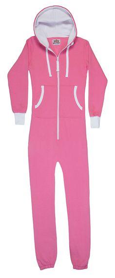 e61449ea925 Adult Hooded Onesie Jumpsuit. Pink JumpsuitPjsPajamasStay ...