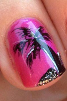 Eden Salon summer nails