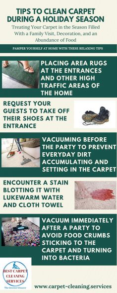 Best Carpet Cleaning Services, Cleaning Tips For Holiday