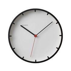 Mondo - Tick Wall Clock, black - single image