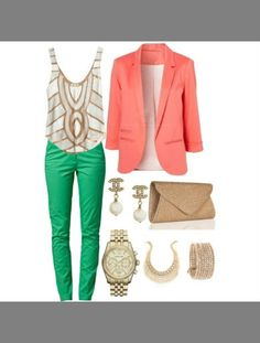 Monochromatic is the color schemes. the color that makes this scheme is the mint green pants. because monochromatic is the tints tones and shades of the color. This color will appear dramatic or exotic. this scheme would help you look calming...^_^
