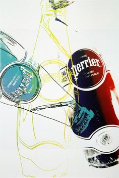 Perrier | Andy Warhol, Perrier (1983)