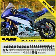 Complete Alloy Motorcycle Body Fairing Bolt Kit Body Screws For Triumph Daytona 675 2006-2014