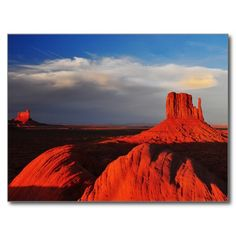 Mitten Butte in Monument Valley Post Cards