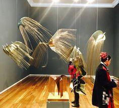 Alicia Tafur en Alonso Garces Galería. Bogotá ciudad inteligente