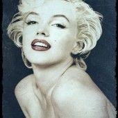 Grunge Effect Marilyn