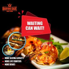 buffet grill barbeque restaurant near you. Exciting Offers on lunch dinner with our trademark. Barbeque Nation, Vegetarian Menu, Seating Capacity, Refreshing Drinks, Buffets, A Table, Grilling, Waiting, Lunch