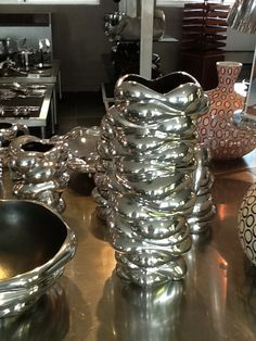Carrol Boyes - Vase Large Wound Up Art Deco Lamps, Vase, Heart, Boys, Gifts, Black, Decor, Baby Boys, Presents