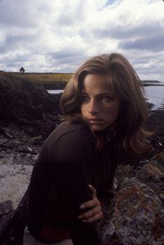 Charlotte Rampling by Jerry Schatzberg.