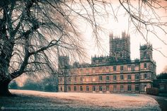 Downton Abbey  The Highclere Castle
