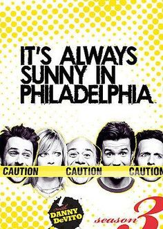 """Philadelphia is known as """"The City of Brotherly Love,"""" but the town may soon be famous for its bad behavior thanks to this mean-spirited comedy. Not for the easily offended, IT'S ALWAYS SUNNY--as the"""