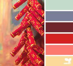 Firecracker Hues - http://design-seeds.com/index.php/home/entry/firecracker-hues1