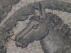 Mosaic from the Villa Romana del Casale, a Roman villa built in the first quarter of the 4th century. Located about 3 km outside of Sicily in southern Italy, the site contains the richest, largest and most complex collection of Roman mosaics in the world.