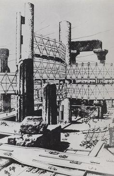 Arata Isozaki - Cluster in the Air - 1961