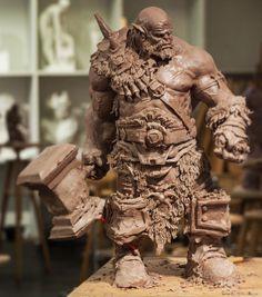 Orc warrior wow, cyril roquelaine on ArtStation at https://www.artstation.com/artwork/m0lJZ