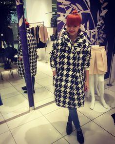 """""""Aaa pochwalę się;) jest już moja kołderka z @monki ❤️❤️❤️ #puchowka #kołderka #kurtka #ootd #fashion #monki #zakupy #uwielbiam #pepitka"""""""
