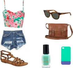 """Hipster Summer Outfit"" by catherinehartley on Polyvore"