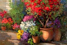 KENT Р. Уоллис - художник, Галереи в Кармель California- Jones / Тервиллигера