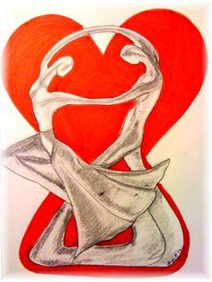 Happy Valentine by JackieO. Disney Characters, Fictional Characters, Disney Princess, Happy, Art, Art Background, Kunst, Ser Feliz, Performing Arts