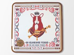 Our Corgi Biscuit Tin (for the Queens 60th Anniversary of her Coronation) from Marks & Spencer