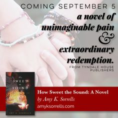 Coming September 5 from Tyndale House Publishers. https://www.tyndale.com/p/how-sweet-the-sound/9781496426130