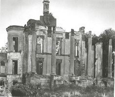 Belle Grove after the fire