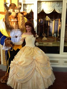 Tale as old as time, song as old as rhyme, Beauty and the Beast! <3