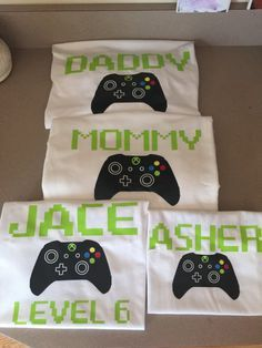 Xbox shirt ADULT video game birthday party shirt xbox by JossyLou