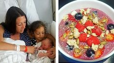 Mum Claims Drinking Teas & Smoothies Made From Her Raw Placenta Helped Her Ward Off Post-Natal Depression