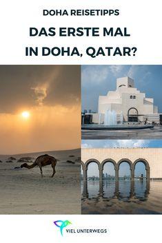 Doha (Qatar) Reisetipps! Alles was ihr vor eurer ersten Reise auf die Arabische Halbinsel wissen müsst! Meine besten Tipps für Doha und Katar. Hoteltipps, Essen gehen, Highlights und weitere Tipps für Qatar. #reisen #reiseblog #reisetipps #katar #qatar #doha #städtetrips Qatar Flag, Travel Destinations, Travel Tips, Qatar Doha, The Beautiful Country, Taj Mahal, Wanderlust, Hotels, Posts