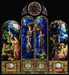 """""""Faith and Hope"""", Detroit Insitute of Art  - by John La Farge (American, 1845-1910)"""