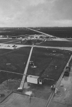 Cape Canaveral in 1958. In the 1960s this site was the Launch Pads to NASA Space Missions.