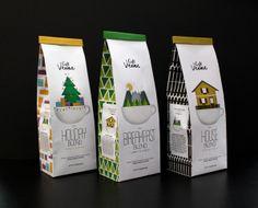 Café Vienna Coffee Packaging by Krystal Duke