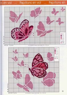 Thrilling Designing Your Own Cross Stitch Embroidery Patterns Ideas. Exhilarating Designing Your Own Cross Stitch Embroidery Patterns Ideas. Butterfly Cross Stitch, Cross Stitch Baby, Cross Stitch Animals, Cross Stitch Flowers, Cross Stitching, Cross Stitch Embroidery, Hand Embroidery, Cross Stitch Designs, Cross Stitch Patterns