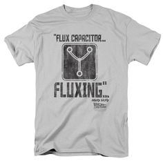 BACK TO THE FUTURE/FLUXING - S/S ADULT 18/1 - SILVER -