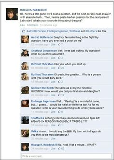I really don't think I want to know what Toothless and Valka were talking about. Regardless, this is funny. Lol.