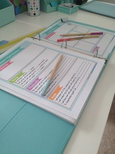 Planning for guided math? Preppy organization sheets should sure help! Get started guide with teacher notes and student activities $
