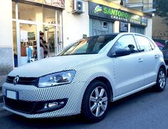 Volkswagen - Pied De Poule - Car Wrapping - Santorografica http://www.santorografica.com/shop/motivi/758-pied-de-poule-pellicola-wrapping.html