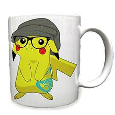Hipster Pikachu 11 Oz Ceramic Cup Mug RTR MG http://www.amazon.com/dp/B00XXLY3IS/ref=cm_sw_r_pi_dp_G-Qxvb0JY8ZVV
